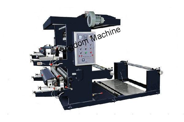 Two Colours Non Woven Flexographic Printing Machine